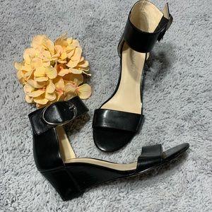 Nine West Ankle Strap Wedge Sandals
